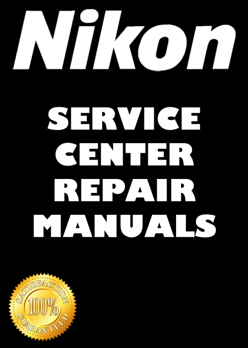 Nikon ZOOM 600 QD Lite Touch Zoom 110 QD Repair Manual & Parts List